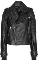 Marc By Marc Jacobs Leather Biker Jacket - Lyst