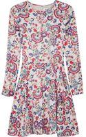 Alice By Temperley Lou Lou Floralprint Satin Mini Dress - Lyst