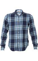 Gant Rugger Windblown Flannel Shirt - Lyst