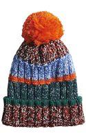 Tommy Hilfiger Multi Wool Hat - Lyst