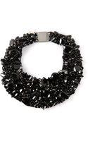 Brunello Cucinelli Swarovski Crystal Necklace - Lyst