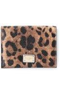 Dolce & Gabbana Leopard Print Purse - Lyst
