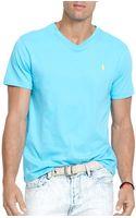 Ralph Lauren Polo Jersey V-neck - Lyst