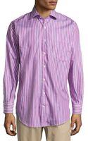 Peter Millar Pop Check Woven Sport Shirt - Lyst