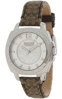 Coach Boyfriend Mini Strap Watch - Lyst
