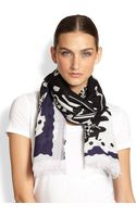 Kenzo Working Tools Modal and Wool Scarf - Lyst