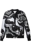 3.1 Phillip Lim Embroidered Panel Jacket - Lyst