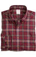 Brooks Brothers Noniron Regular Fit Signature Tartan Sport Shirt - Lyst