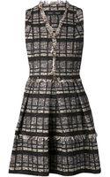 Proenza Schouler Sleeveless Flare Tweed Dress - Lyst