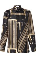 Versace Dragonfly Shirt - Lyst