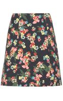 Erdem Calista Cotton Blend Skirt - Lyst