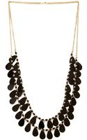 Forever 21 Layered Disc Fringe Necklace - Lyst