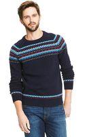 Tommy Hilfiger Heritage Fair Isle Sweater - Lyst