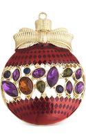 Jones New York Goldtone Multistone Ornament Pin - Lyst