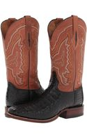 Lucchese boots mid-calf boots - Lyst