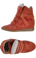 Isabel Marant High-tops  Trainers - Lyst