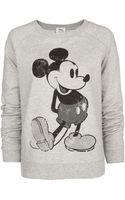 Mango Mickey Sweatshirt - Lyst