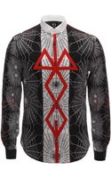 McQ by Alexander McQueen Tattoo Spider Print Shirt - Lyst