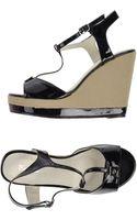 Balmain Sandals - Lyst