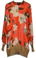 Vivienne Westwood Anglomania Blouse - Lyst