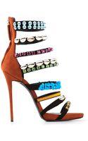Giuseppe Zanotti Embellished Sandals - Lyst