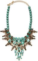 Kenneth Jay Lane Contrast Bead and Crystal Necklace - Lyst