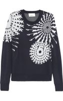 3.1 Phillip Lim Snowflake-intarsia Knitted Sweater - Lyst