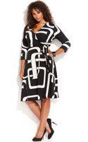 Inc International Concepts Plus Size Graphicprint Fauxwrap Dress - Lyst
