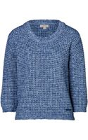 Burberry Brit Cotton Wool Blend Pullover - Lyst