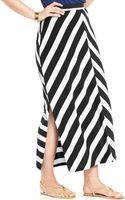 Jessica Simpson Plus Size Striped Maxi Skirt - Lyst