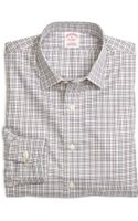 Brooks Brothers Non Iron Regular Fit Mini Check Sport Shirt - Lyst