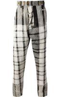 Vivienne Westwood Check Trouser - Lyst