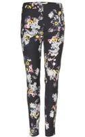 Erdem Sidney Printed Trousers - Lyst