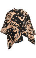 Burberry Prorsum Prorsum 200x140 Thistle Blanket Cape - Lyst