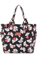 Marc By Marc Jacobs Pretty Nylon Pinwheel Medium Tate Tote Bag Black Multi - Lyst
