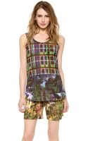 Carven Printed Tank - Lyst