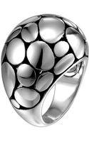 John Hardy Kali Silver Dome Ring - Lyst