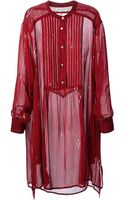 Etoile Isabel Marant Cray Shirt Dress - Lyst