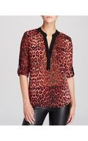 Kut From The Kloth Animal Print Top - Lyst