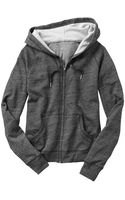 Gap French Terry Hoodie - Lyst