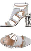 Calvin Klein Sandals - Lyst