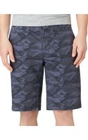 Calvin Klein Jeans Camouflage Print Chino Shorts - Lyst