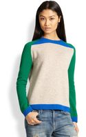 Chinti & Parker Colorblock Wool Sweater - Lyst