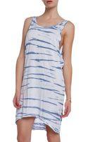 Lacausa Drape Tank Dress - Lyst