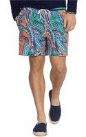 Polo Ralph Lauren Traveler Paisley Swim Shorts - Lyst