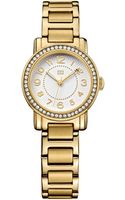 Tommy Hilfiger Womens Gold Ion-plated Stainless Steel Bracelet Watch 28mm - Lyst