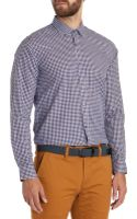 Ted Baker Twill Check Shirt - Lyst