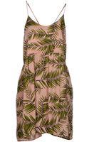 Ganni Short Dress - Lyst