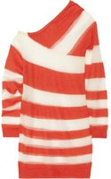Acne Studios Oil K Striped Openknit Mohairblend Sweater - Lyst