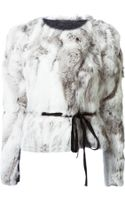 Isabel Marant Belted Jacket - Lyst